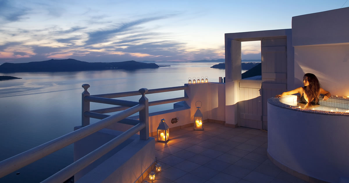 Adamant Suites Luxury Hotel At Fira In Santorini Ideal For Honeymoon