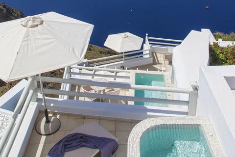 Book your suite in Santorini