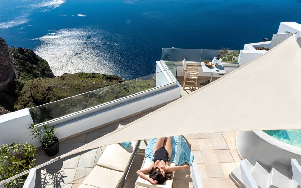 Diamond Suite - Luxury accommodation in Santorini